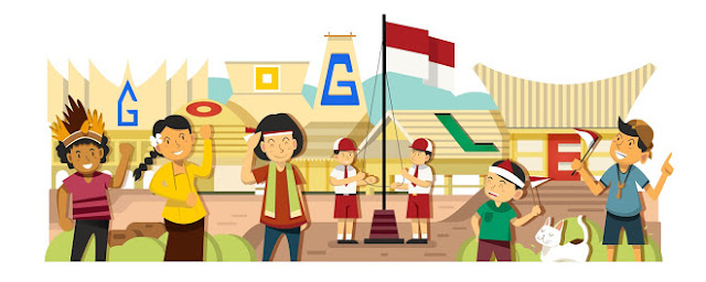 Google Doodle Indonesia Dari Tahun Ke Tahun