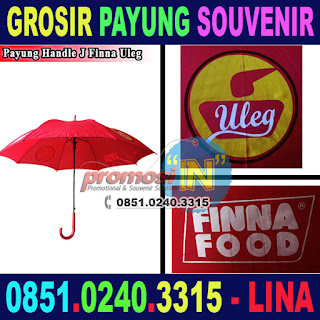 Grosir Payung Souvenir Advertisement Murah Finna Food