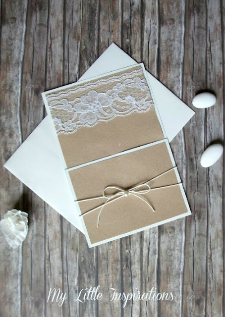 Cuscinetto Porta Fedi Rustico Romantico MLI - inviti