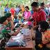 Satgas Yonif 411 Kostrad Bersama IDI Gelar Bakti Sosial di Perbatasan RI-PNG
