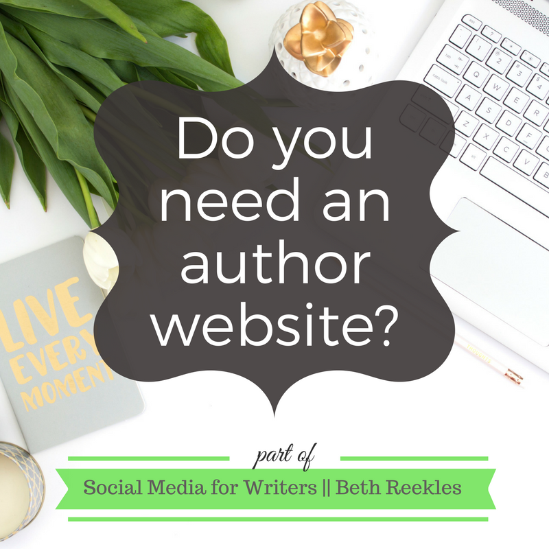 Do you really need an author website? What's the point? I share a few thoughts in this post.