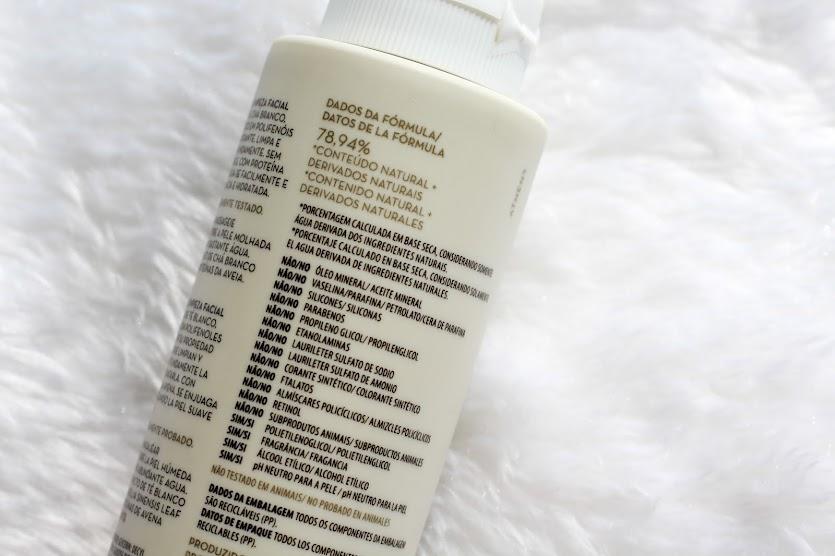 Chá Branco Gel Fluido de Limpeza Facial Korres