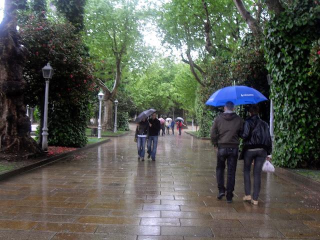 parque de la Alameda Santiago de Compostela
