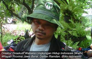 Walhi Jawa Barat memastikan akan melayang surat kepada Pemprov Jabar supaya mengkaji ulang seluruh perizinan perusahaan tambamg PT Citatih Putra Sukabumi (CPS).