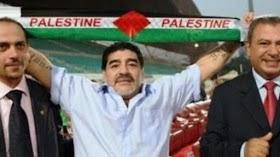 Di Palestina, Anda Tidak Bisa Membenci Maradona....