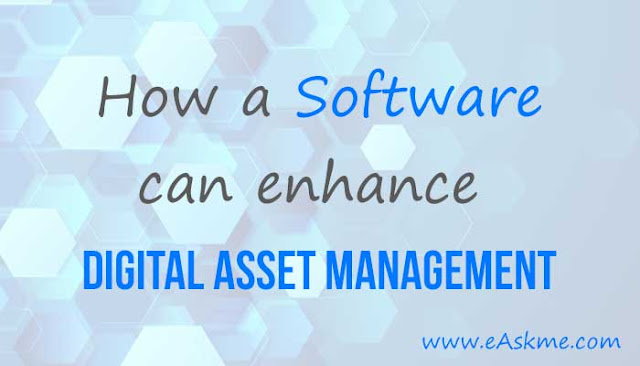 How a Software Can Enhance Your Digital Asset Management: eAskme