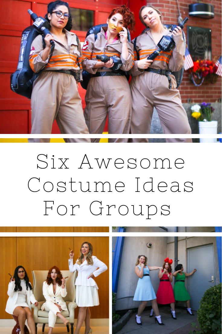 group halloween costumes, pop culture halloween costumes, easy costume ideas for groups, easy costume ideas for couples, best costume for halloween, halloween costume ideas, red head costume ideas, ghostbusters costume ideas, first wives club costumes, I love Lucy costume ideas, Lucy and rick costume ideas, flappers costume ideas, great Gatsby costume ideas, Powerpuff girls costumes, easy Powerpuff girls costume, David Bowie costume, Elton John costume, Selena costume, Freddie Mercury costume, pop icon costume ideas, easy costumes from your closet, funny group costumes, unique halloween costumes, halloween costumes Megan Zietz, halloween costumes tfdiaries