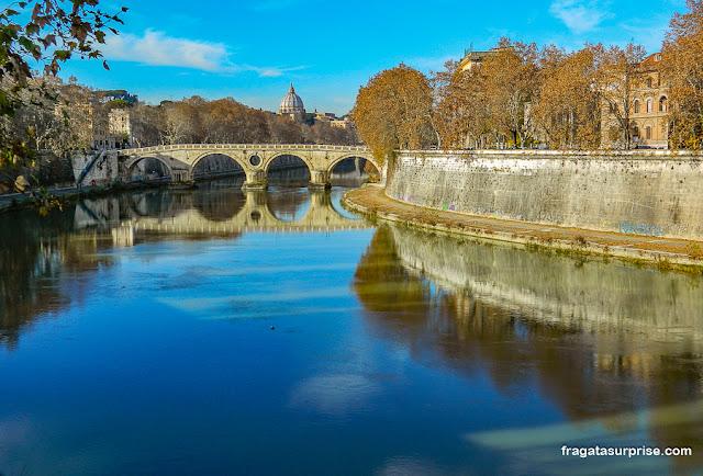 Ponte Sisto, Rio Tibre, Roma
