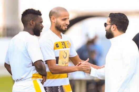 كريم الاحمدي لاعب الاتحاد السعودي
