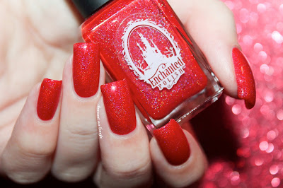 """Swatch of the nail polish """"February 2015"""" from Enchanted Polish"""