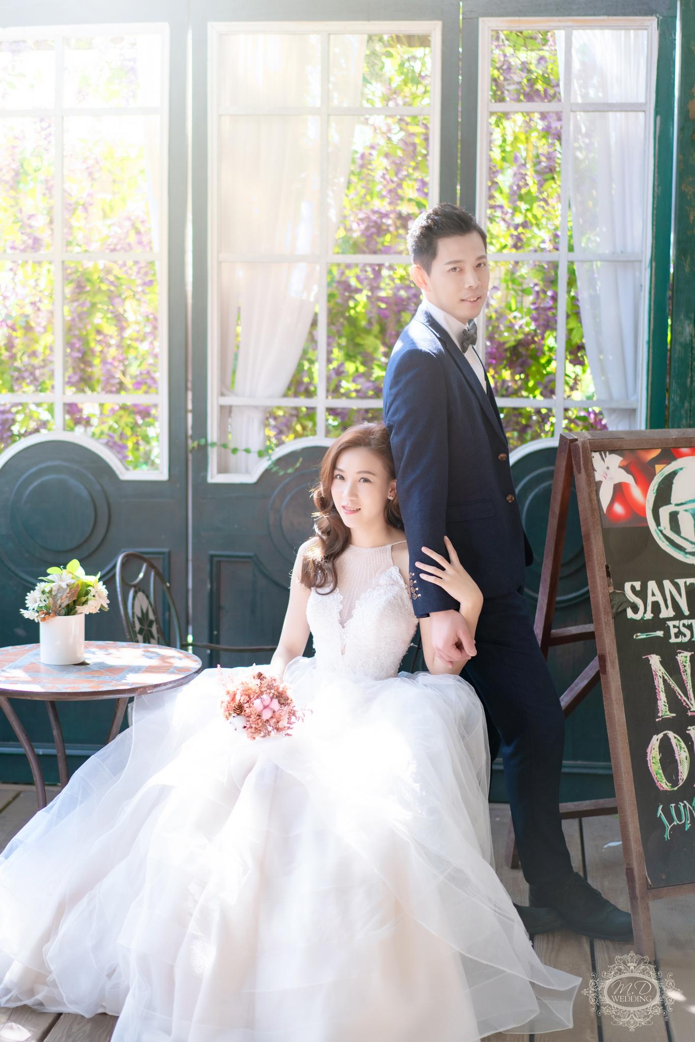 淡水莊園婚紗基地 夢幻童話森林 浪漫風格 逆光婚紗 台北婚紗推薦 韓系小清新婚紗