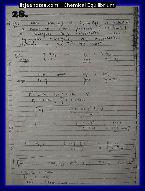 Chemical Equilibrium chemistry5