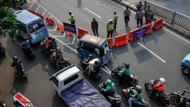 """Titik Penyekatan di Jakarta Diperketat, Antisipasi Demo """"Jokowi End Game"""""""