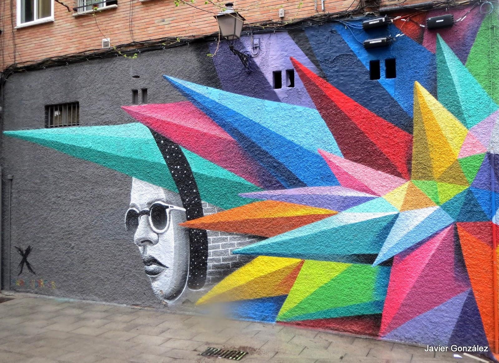 Calle Embajadores. Lavapiés. Madrid #cityscape. Mural