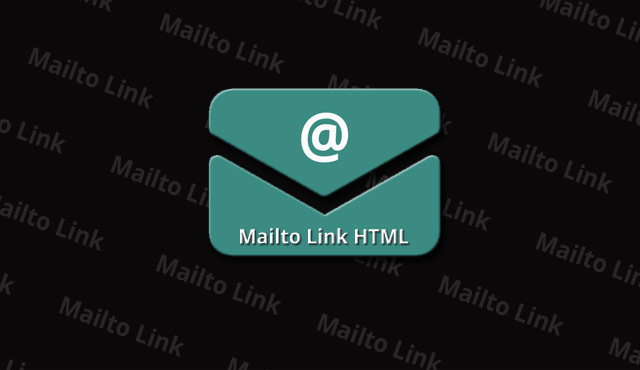 Mailto Link + Svg Mail Icon