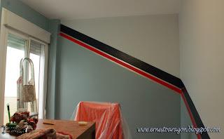 Como pintar un zócalo en una habitación
