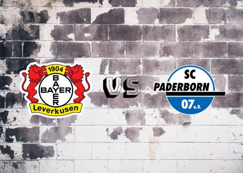 Bayer Leverkusen vs Paderborn  Resumen