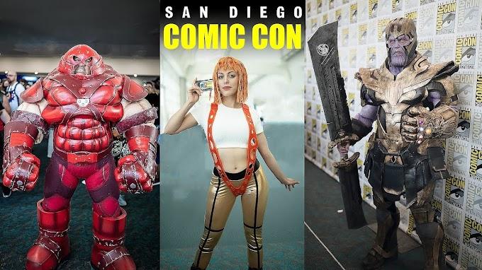 Mas cosplay desde la San Diego Comic Con 2019