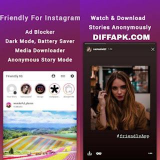 Friendly for Instagram Apk v1.3.5 [Premium] [Mod]