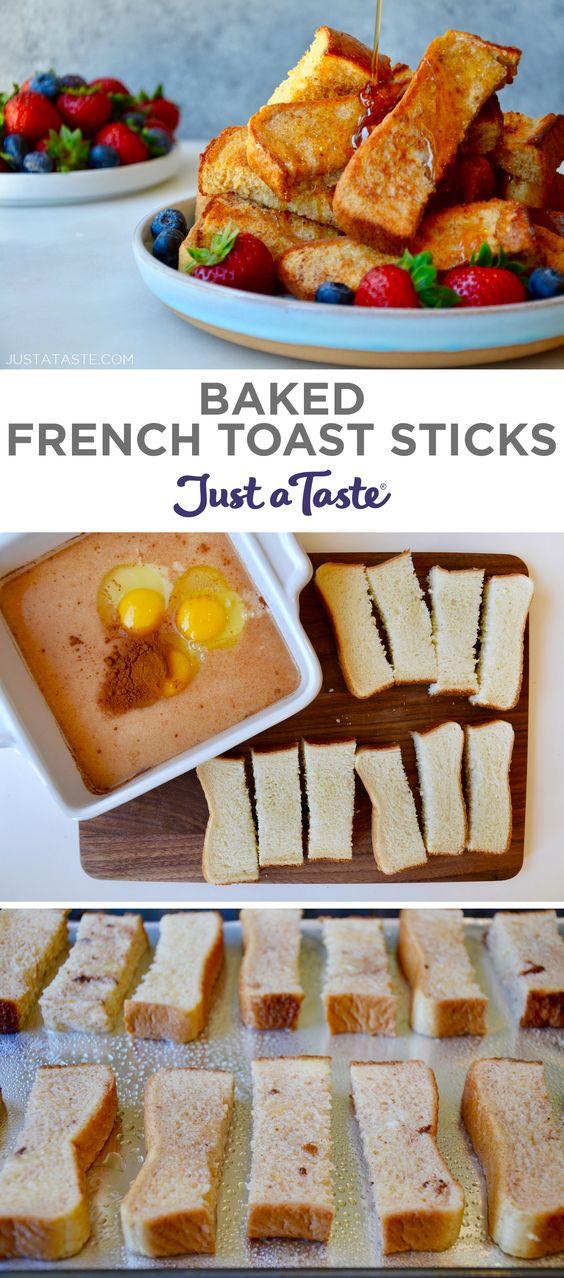 Baked French Toast Sticks (Freezer-Friendly)