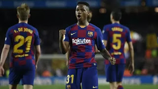 Fati to 'continue to train alongside Messi and Suarez in first team next season'