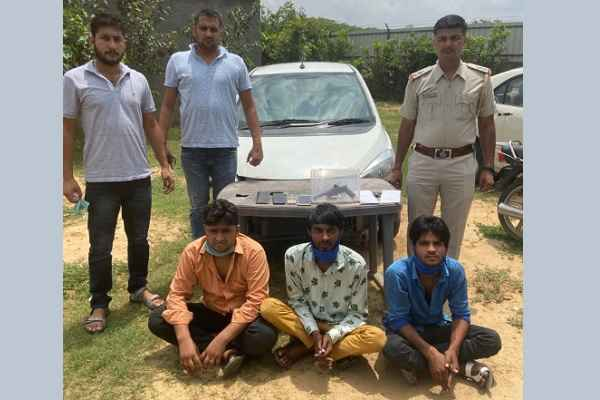 faridabad-crime-branch-arrested-loot-and-snatching-accused-news