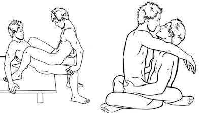 7 tư thế Làm tình cho các bạn đồng tính nam