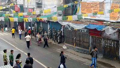 Morcha leader arrest warrant brings Darjeeling tense, witnesses frequent bandhs
