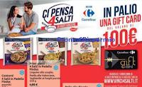 Logo Findus ''Ci pensa 4 Salti a farti vincere'' 90 Gift card Carrefour da 100€