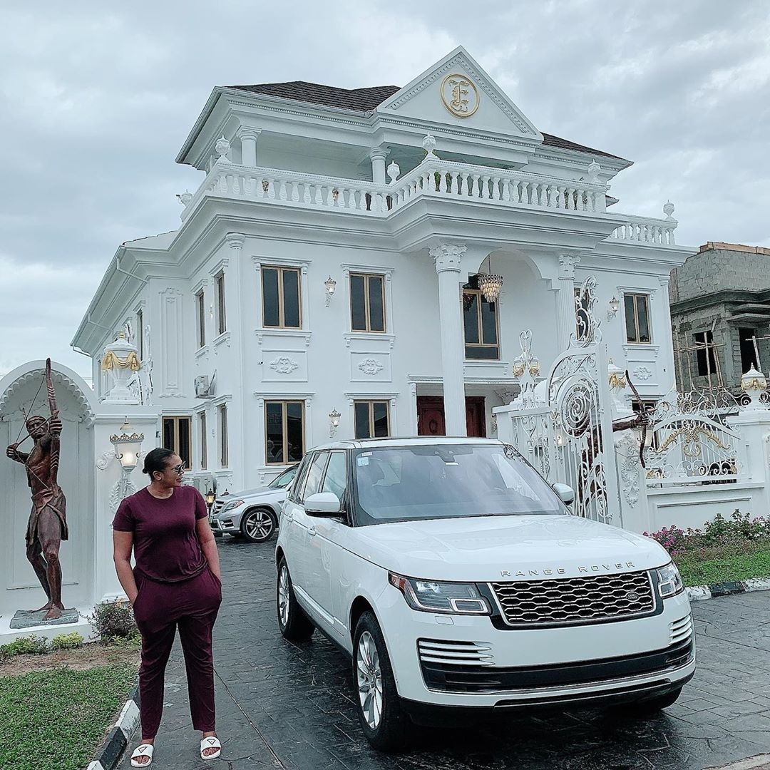 Ehi Ogbebor gifts herself a 7-bedroom mansion on her 35th birthday