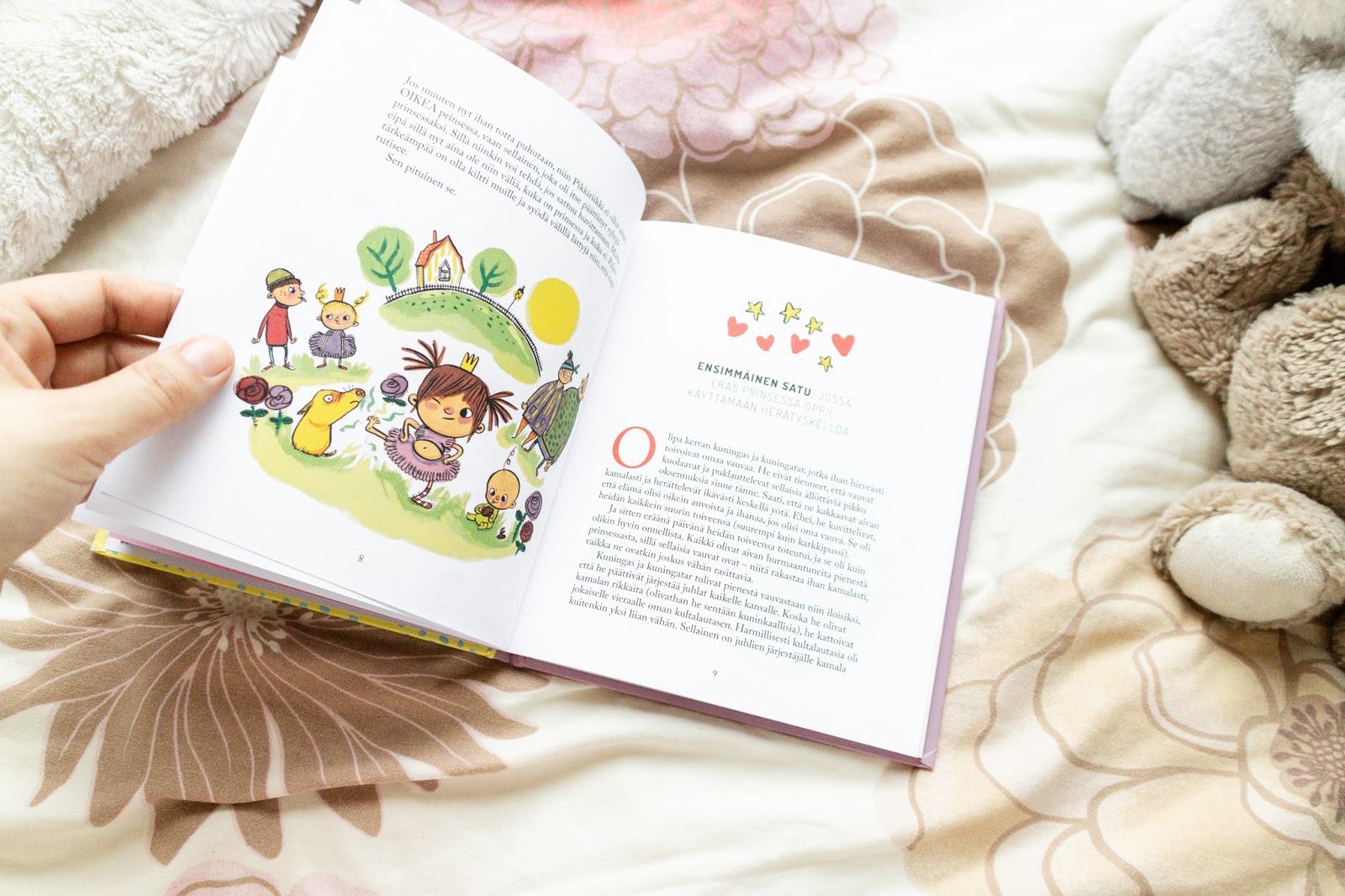 Big mamas home by Jenni S. Kirjasuosituksia lapsille, Prinsessa Pikkiriikin astetta paremmat iltasadut, Fanni ja suuri tunnemöykky