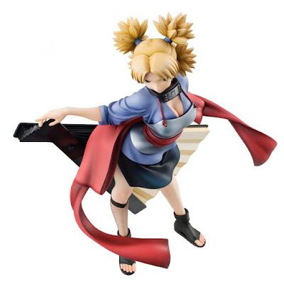 Naruto Gals Temari de Naruto Shippuden - MegaHouse