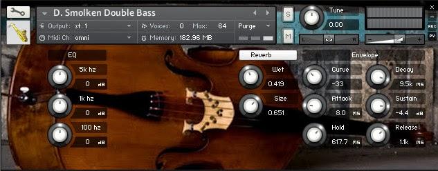 D. Smolken Double Bass instrument kontakt
