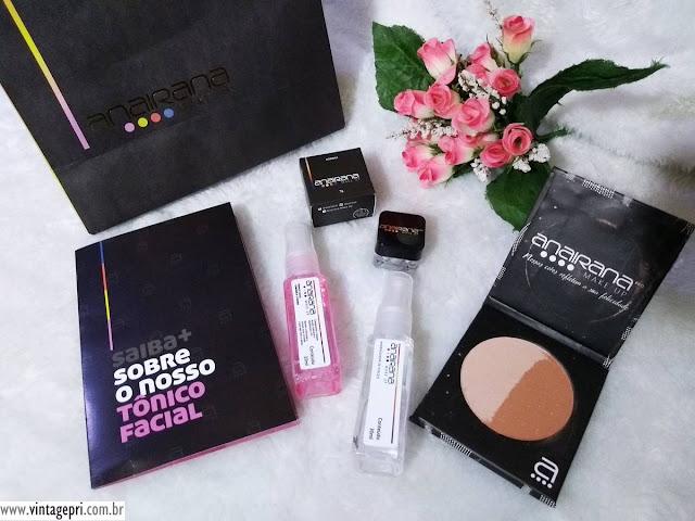 #Testei: Produtos Anairana Make-up