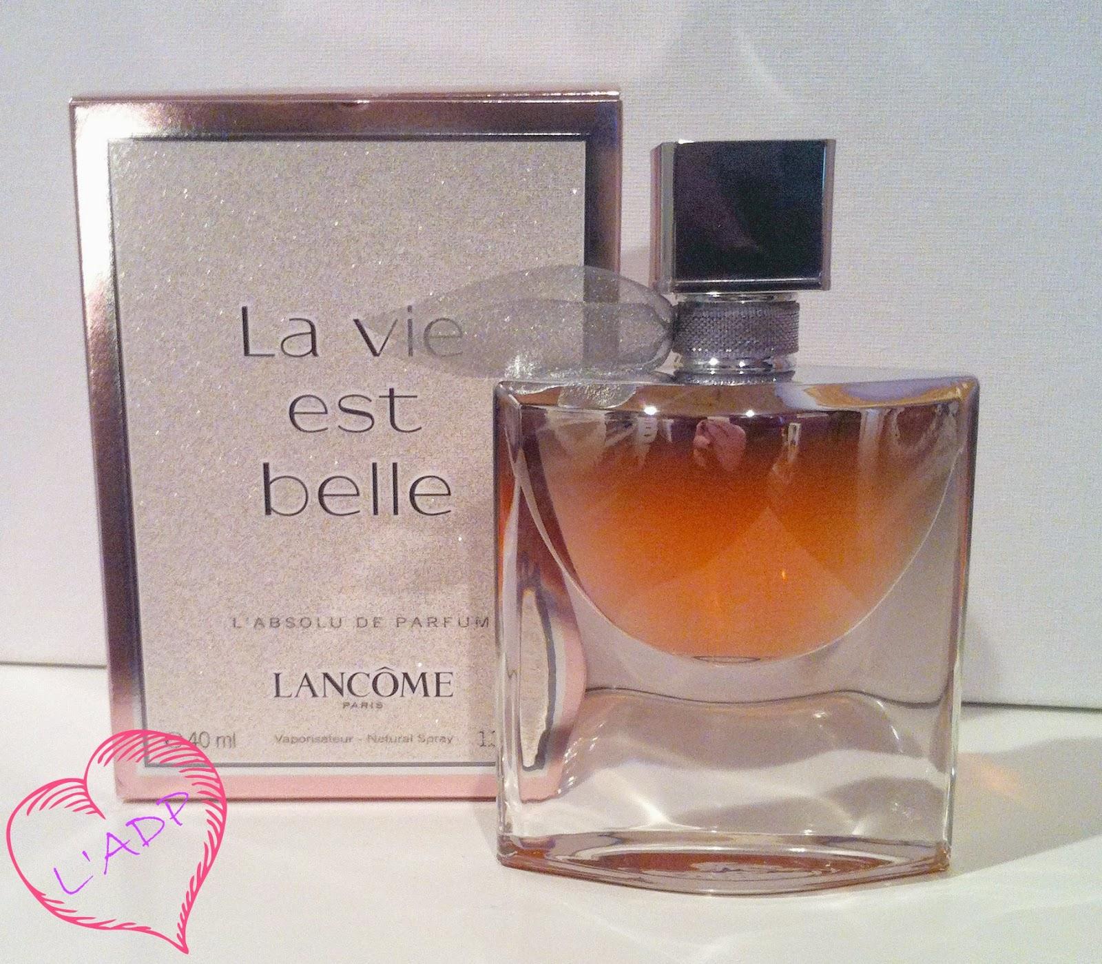 dancingwithdisaster la vie est belle l 39 absolu de parfum illuminating fragrance oil by lancome
