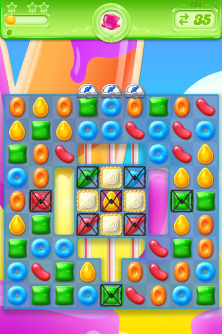 Candy Crush Jelly Saga 191