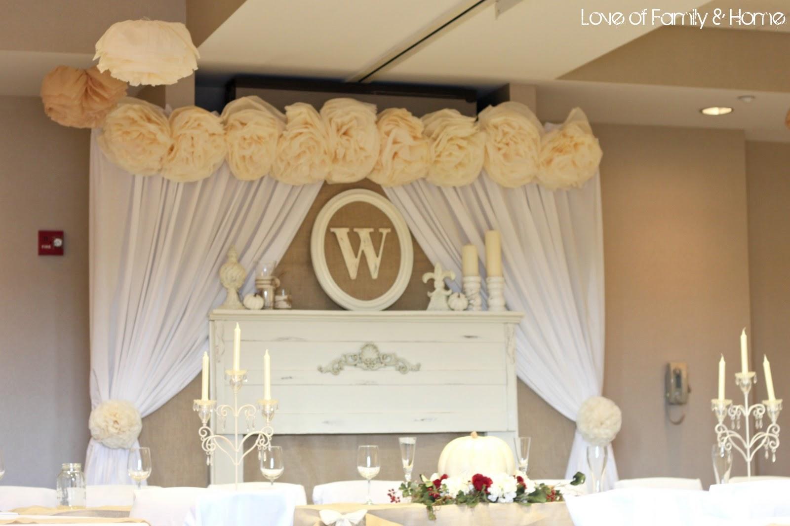 DIY Rustic, Chic, Fall Wedding Reveal...