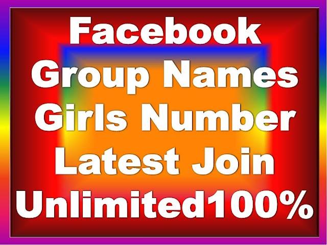 Facebook Group Names List [Cool, Creative, Best, Ideas, Friends]