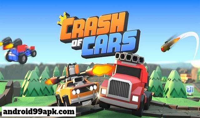لعبة Crash of Cars v1.3.61 مهكرة (بحجم 95 MB) للأندرويد
