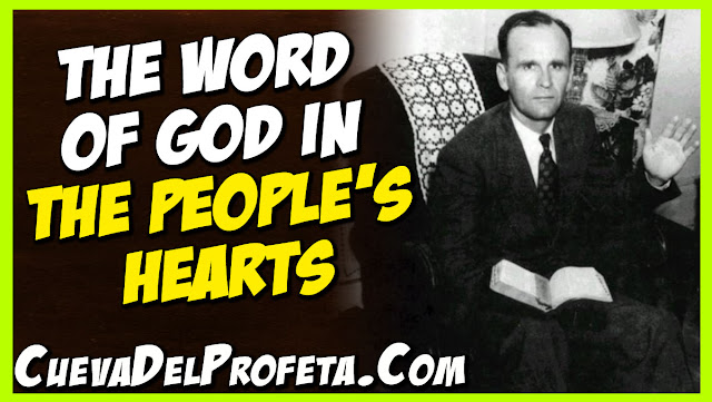 the Word of God in the hearts of the people - William Marrion Branham Quotes