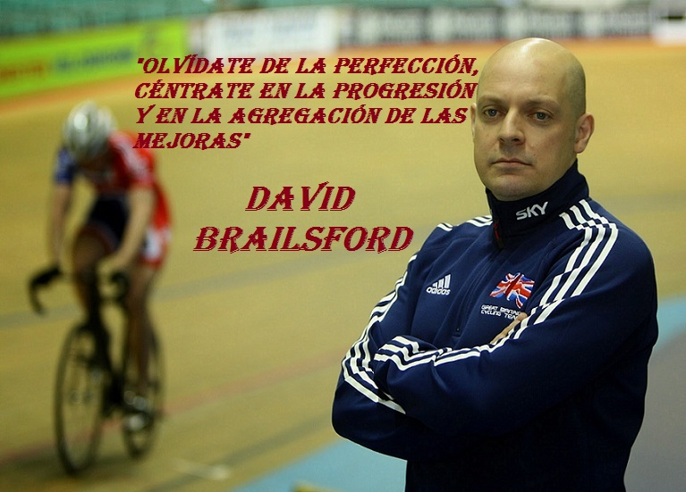 Dave Brailsford  autor de la teoría de la AGREGACIÓN DE MEJORAS MARGINALES