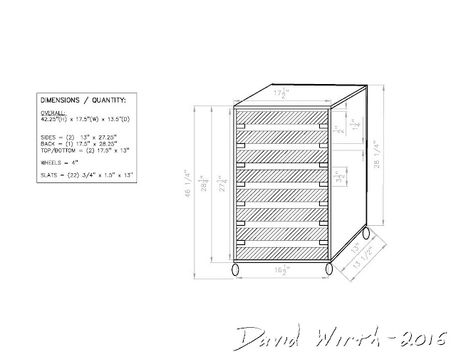 3d plans tool chest, AutoCAD tool cart plans, AUTOCAD tool chest
