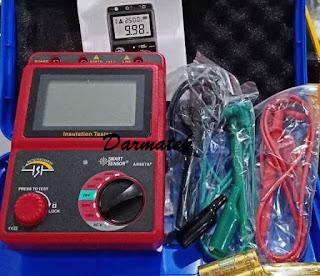 Jual Smart Sensor AR907A+ 100-2500V Digital Insulation Meter Tester Megger MegOhm