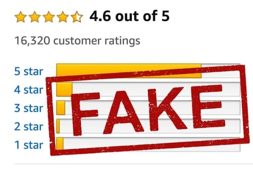 Fake reviews fill Amazon and it's hard to spot