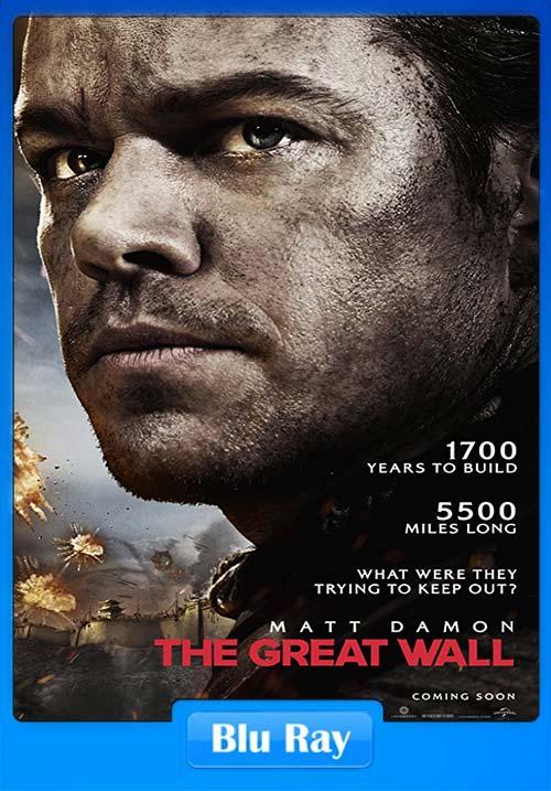 The Great Wall 2016 720p BluRay Hindi Eng x264 | 480p 300MB | 100MB HEVC