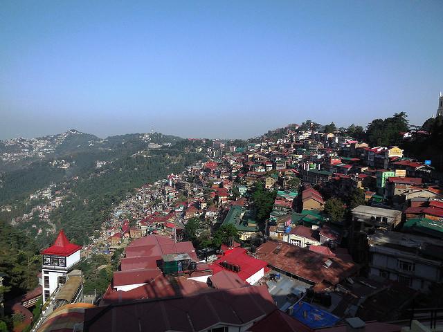 Shimla in the morning