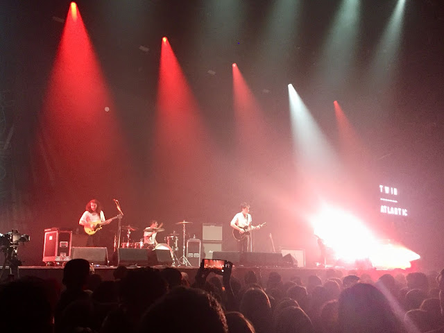 Twin Atlantic performing in the Newcastle Utilita Arena