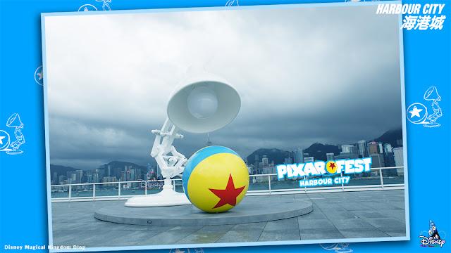彼思動畫35周年Pixar Fest香港海港城-迪士尼與彼思電影場景-Harbour-City