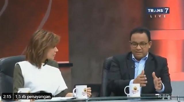 Ini Kejadian Nyata... Nonton Mata Najwa, Bos Pendukung Ahok Kagumi Anies atas Penanganan Corona, Harusnya Jadi Presiden RI