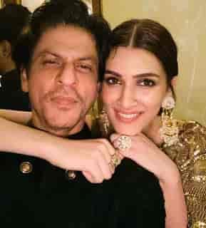 Kriti Sanon With Shahrukh Khan